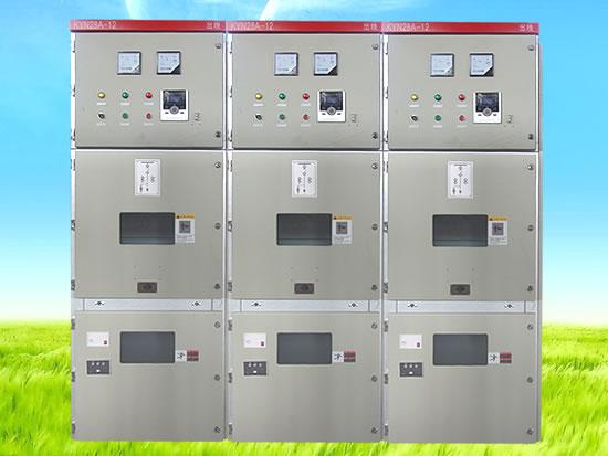 KYN28-12金属铠装中置式高压开关柜